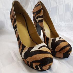 Nine West Tiger Print Dress Shoe